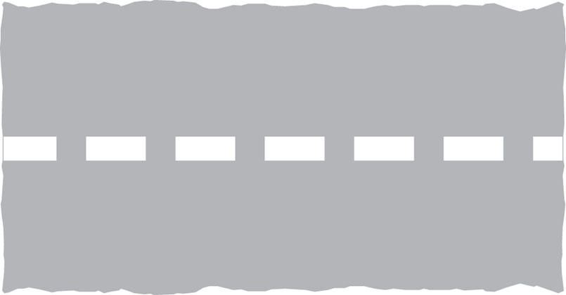 across carriageway stop line level crossing