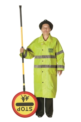 school crossing patrol not ready