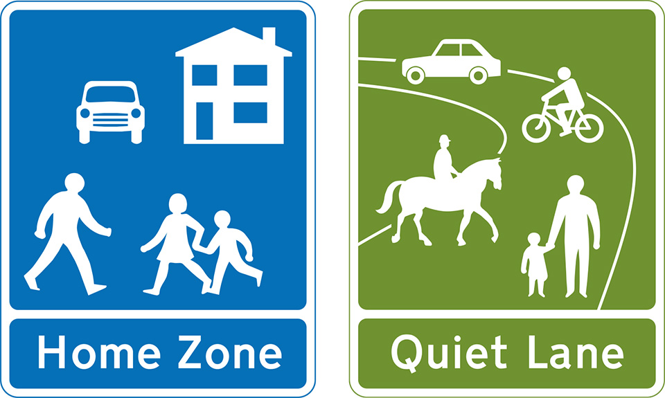 Rule 218: Home Zones and Quiet Lanes