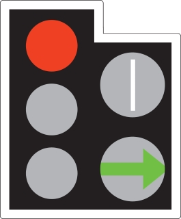 traffic light green arrow