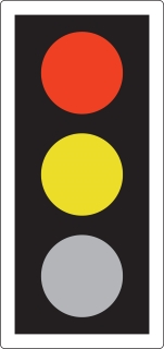 traffic light red amber